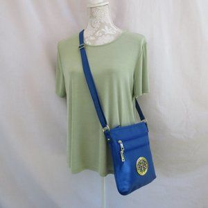 **NWOT Private Lable** Royal Blue Crossbody Bag